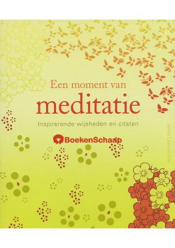 Een moment van meditatie