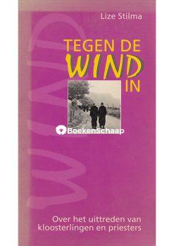 tegen de wind in
