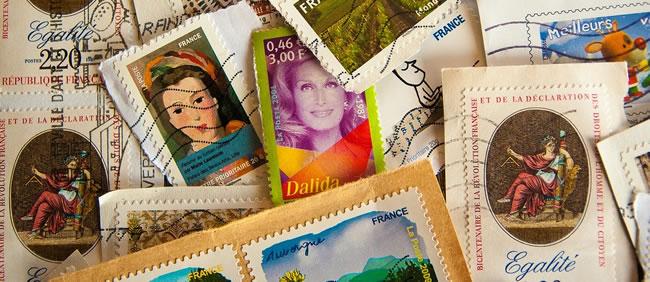 postzegels frankrijk